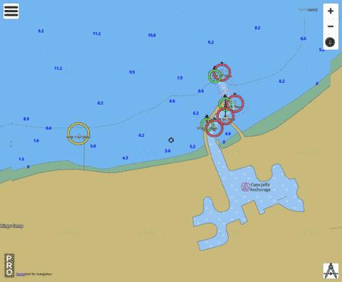 South Australia - South East Coast - Cape Jaffa Marina Marine Chart - Nautical Charts App