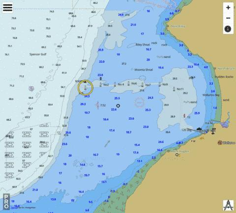 South Australia - Wallaroo Marine Chart - Nautical Charts App