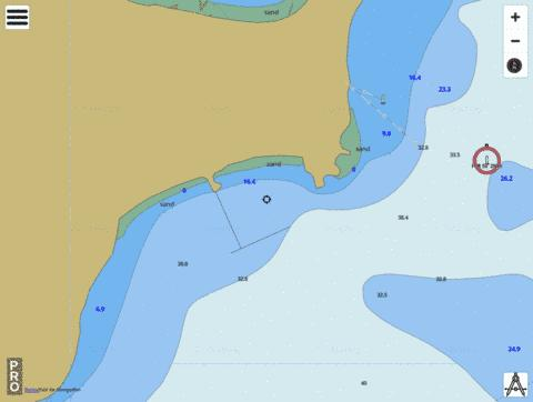 South Australia - Proper Bay Marine Chart - Nautical Charts App