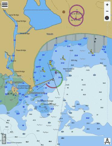 Australia Victoria Warrnambool Marine Chart AUAU5141P1