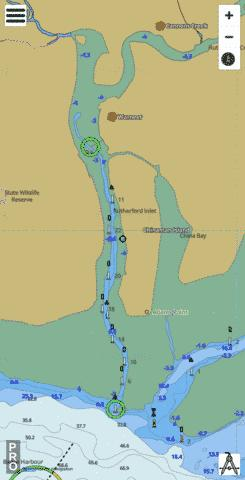 Western Port - Rutherford Inlet Marine Chart - Nautical Charts App