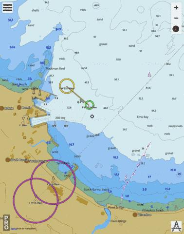 Tasmania - Port of Burnie (Marine Chart : AU_AU5163P1) | Nautical