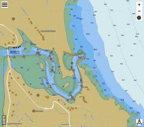 Tasman Sea - Narooma Marine Chart - Nautical Charts App