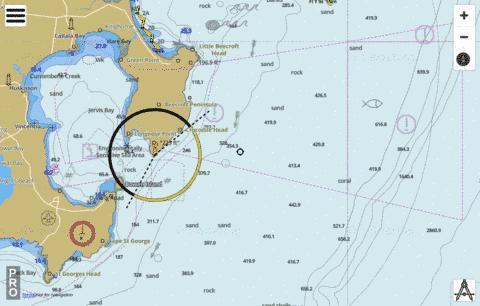New South Wales - South Coast - Jervis Bay (Marine Chart