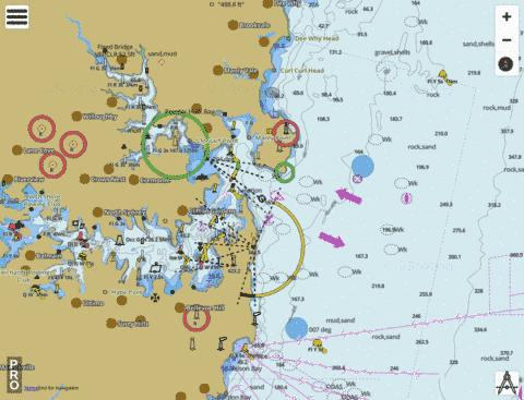 Australia - New South Wales - Port Jackson (East) Marine Chart - Nautical Charts App