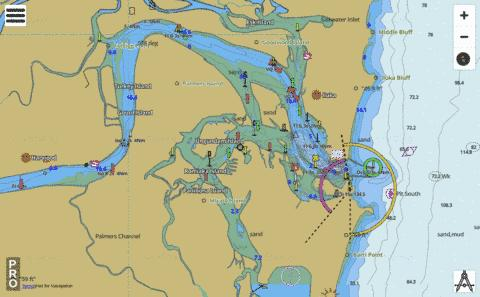 New South Wales - North Coast - Clarence River and Approaches Marine Chart - Nautical Charts App