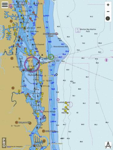 Australia - Queensland - Gold Coast Seaway Marine Chart - Nautical Charts App