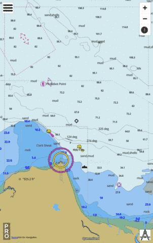 Queensland - Great Barrier Reef - Abbot Point and Approaches Marine Chart - Nautical Charts App