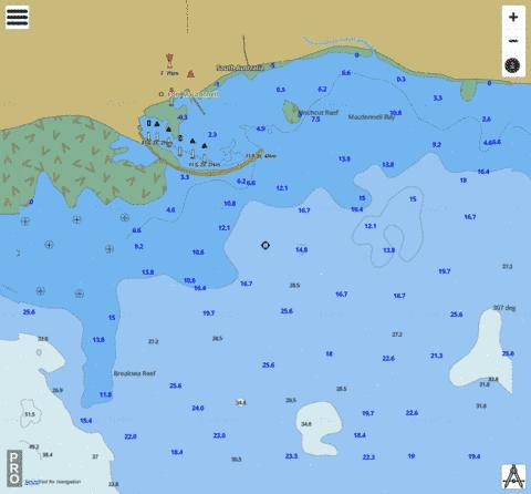 South Australia - Port Macdonnell Marine Chart - Nautical Charts App