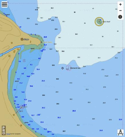 Papua New Guinea - North Coast - Aitape Marine Chart - Nautical Charts App