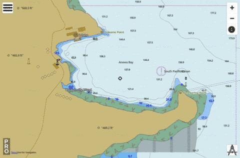 Papua New Guinea - Bougainville - Anewa Bay Marine Chart - Nautical Charts App