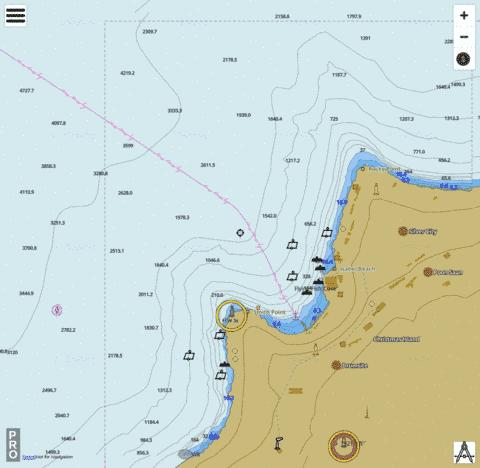 Indian Ocean - Christmas Island - Flying Fish Cove Marine Chart - Nautical Charts App