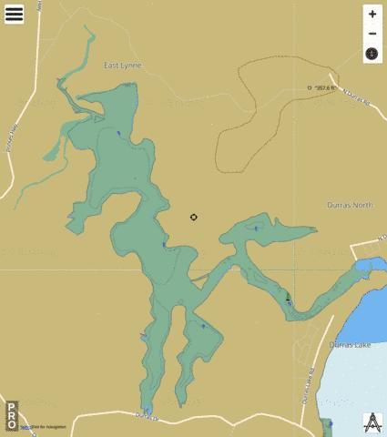 Durras Lake Fishing Map - i-Boating App