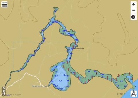 Wonboyn River Fishing Map - i-Boating App
