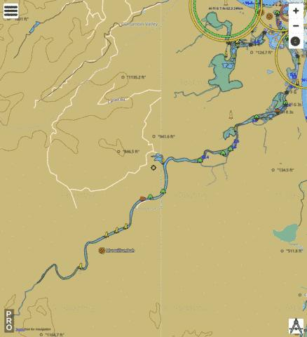 Tweed River Fishing Map - i-Boating App