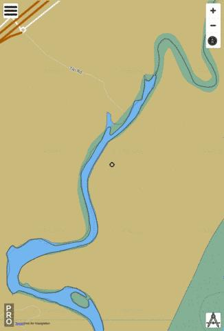 Moonee Creek Fishing Map - i-Boating App