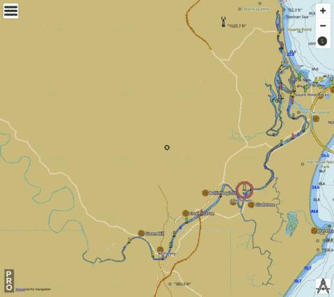 Macleay River Fishing Map - i-Boating App