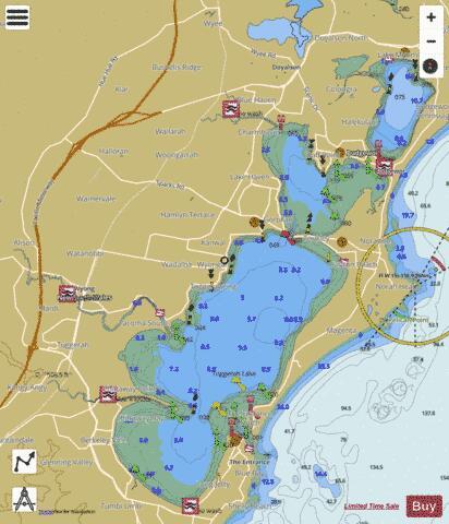 map lake macquarie fishing spots Tuggerah Lake Fishing Map Au Nsw Lake Tuggerah Nautical map lake macquarie fishing spots