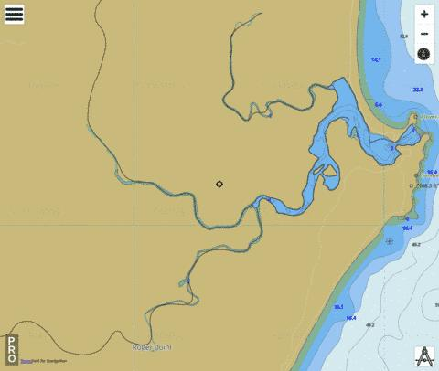Sandon River Fishing Map - i-Boating App