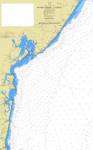 DO RIO ITARIRI A ILHEUS Marine Chart - Nautical Charts App
