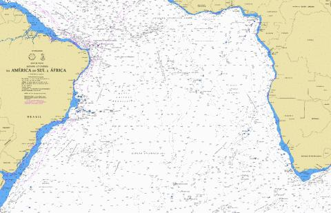 DA AMERICA A AFRICA DO SUL Marine Chart - Nautical Charts App