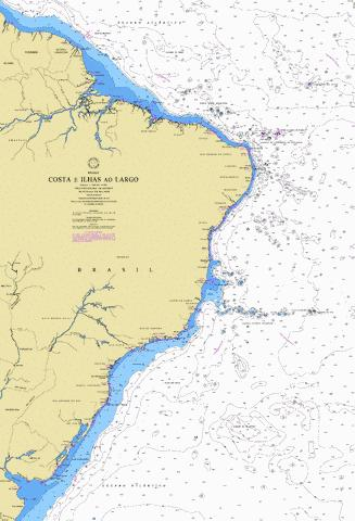 COSTA E ILHAS AO LARGO Marine Chart - Nautical Charts App