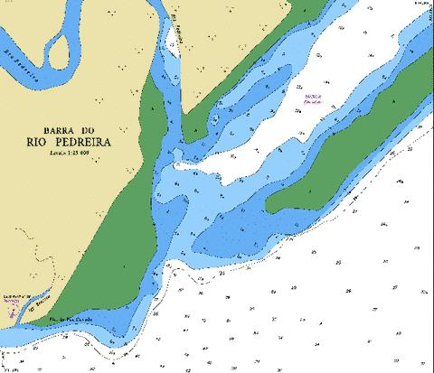 BARRA DO PEDREIRA Marine Chart - Nautical Charts App