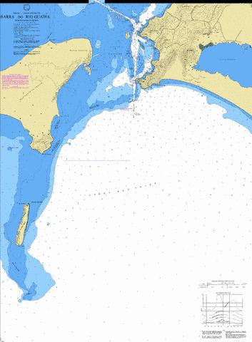 BARRA DO RIO GUAIBA Marine Chart - Nautical Charts App