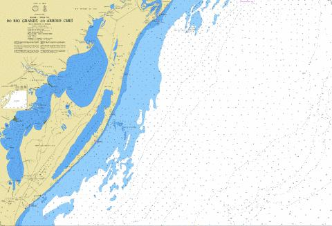 DO RIO GRANDE AO ARROIO CHUI Marine Chart - Nautical Charts App
