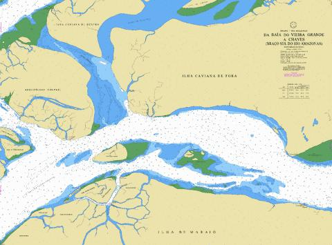 DA BAIA DO VIEIRA GRANDE A CHAVES (BRACO SUL DO RIO AMAZONAS) Marine Chart - Nautical Charts App