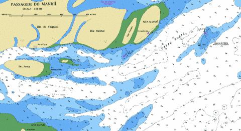 PASSAGEM DO MANDII Marine Chart - Nautical Charts App