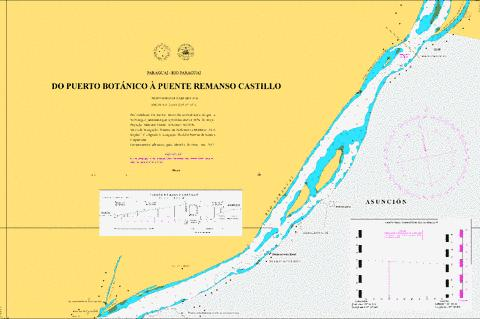 DO PUERTO BOTANICO A PUENTE REMANSO CASTILLO Marine Chart - Nautical Charts App
