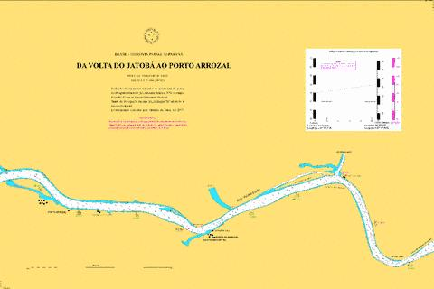 DA VOLTA DO JATOBA AO PORTO ARROZAL Marine Chart - Nautical Charts App