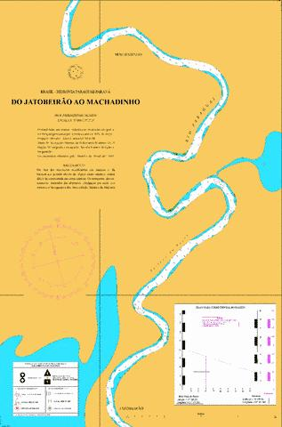 DO JATOBEIRAO AO MACHADINHO Marine Chart - Nautical Charts App