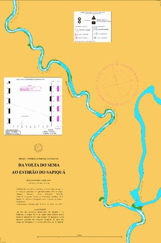 DO RIO SARARE AO ESTIRAO DO SAPIQUA Marine Chart - Nautical Charts App