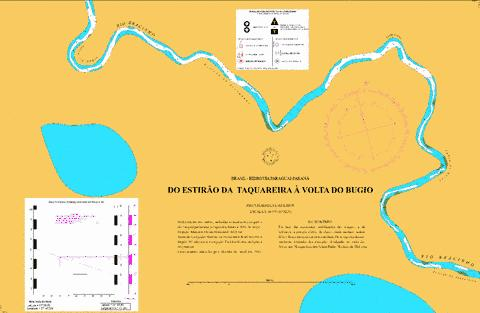 DO ESTIRAO DA  TAQUAREIRA A VOLTA DO BUGIO Marine Chart - Nautical Charts App