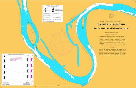 DA BOCA DO PAPAGAIO AO PASSO DO MORRO PELADO Marine Chart - Nautical Charts App