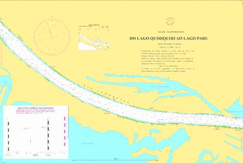 DO LAGO QUIRIQUIRI AO LAGO PARU Marine Chart - Nautical Charts App