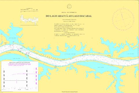 DO LAGO ARACUA AO LAGO BACABAL Marine Chart - Nautical Charts App