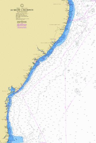 DO RECIFE A BELMONTE Marine Chart - Nautical Charts App