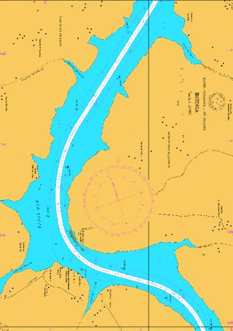 IBITINGA 4 Marine Chart - Nautical Charts App