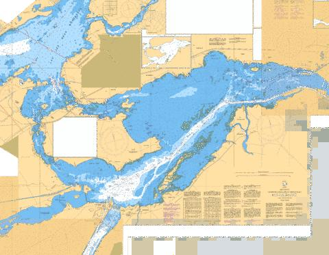 LAC SAINT-LOUIS Marine Chart - Nautical Charts App