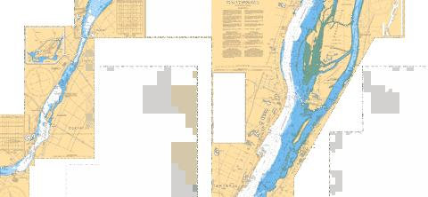 PONT-VIAU A/TO ILE BOURDON C-D Marine Chart - Nautical Charts App