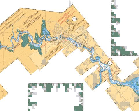 EDMUNDS LOCK TO / � SMITHS FALLS Marine Chart - Nautical Charts App