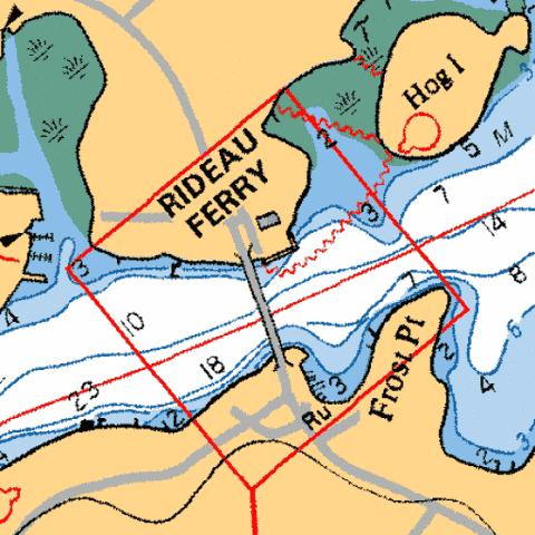 REDEAU FERRY Marine Chart - Nautical Charts App