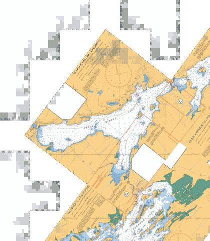 NARROWS LOCK TO/� NEWBORO Marine Chart - Nautical Charts App