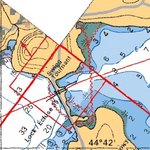 NARROWS LOCK - LOCK/ÉCLUSE 35 Marine Chart - Nautical Charts App