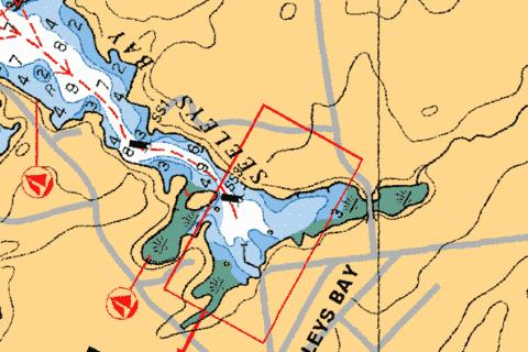 SEELEYS BAY Marine Chart - Nautical Charts App