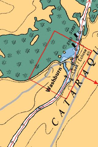 LOWER BREWERS - LOCK/�CLUSE 45 Marine Chart - Nautical Charts App