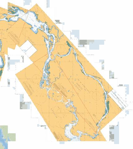 CHUTE DU GRAND CALUMET AU / TO LAC COULONGE Marine Chart - Nautical Charts App